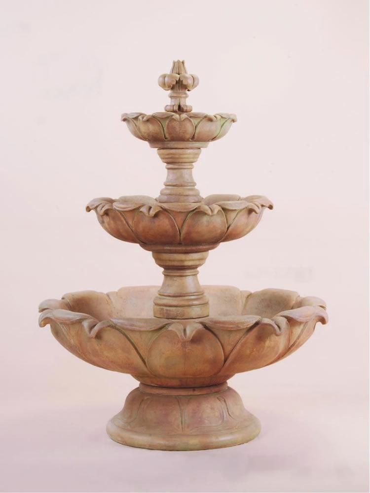 Gardenia Three Tier Fountain SHORT