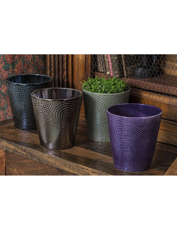 Boho Swirl Planter - Set of 8