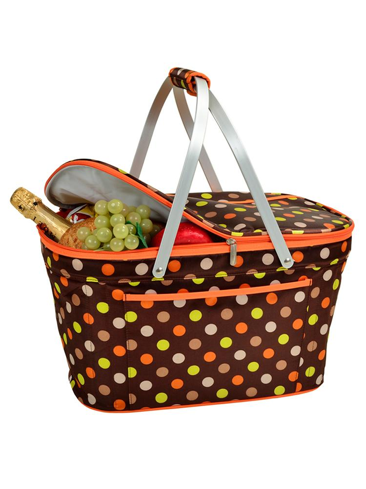 Collapsible Insulated Basket -Julia Dot
