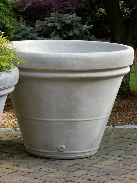 Estate Rolled Rim Large Planter
