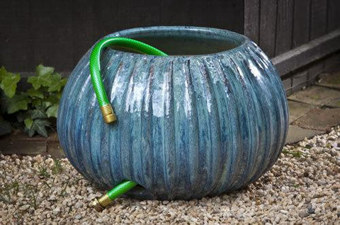 Gresham Ribbed Hose Pot - Art Pottery