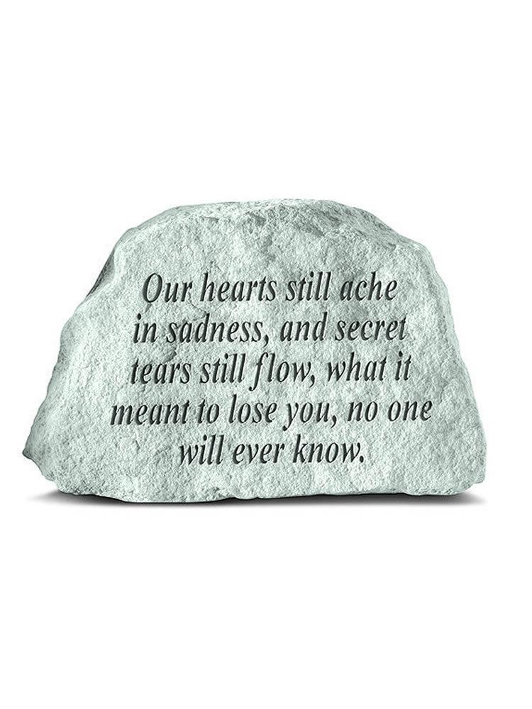 Our Hearts Still Ache Mini Garden Stone/Plaque