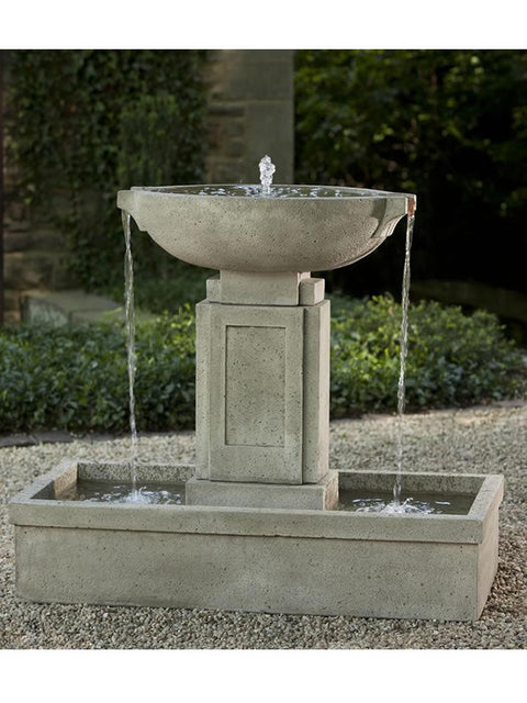 Concrete Water Fountain Pools : Fountains by garden all water