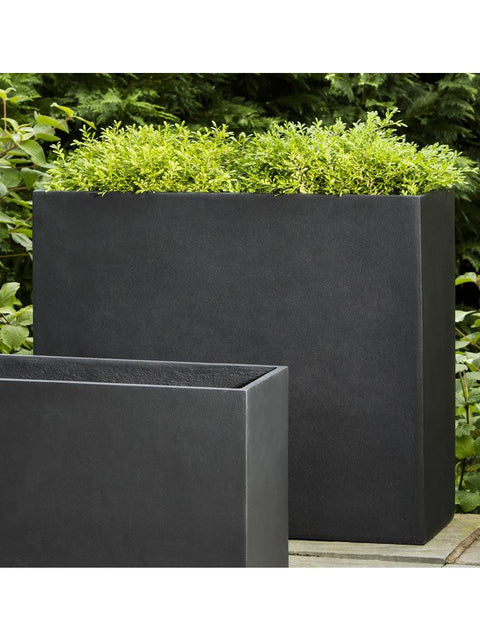 Modular Planter 6 in Onyx Black Lite