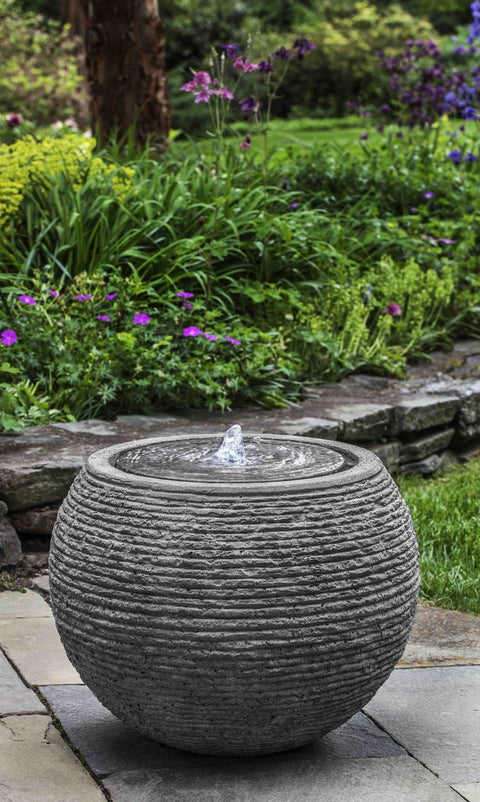 Sonora Large Fountain in Stone Ledge