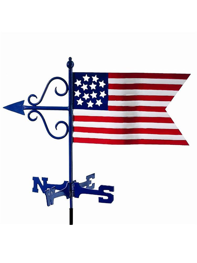 Patriotic Garden Weather Vane
