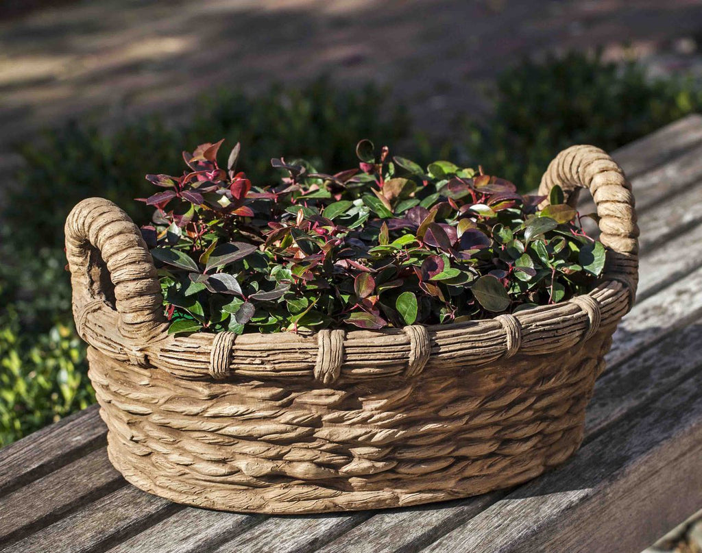 Provencal Basket Planter