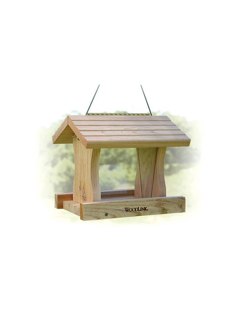 Deluxe Cedar Bird Feeder, Large