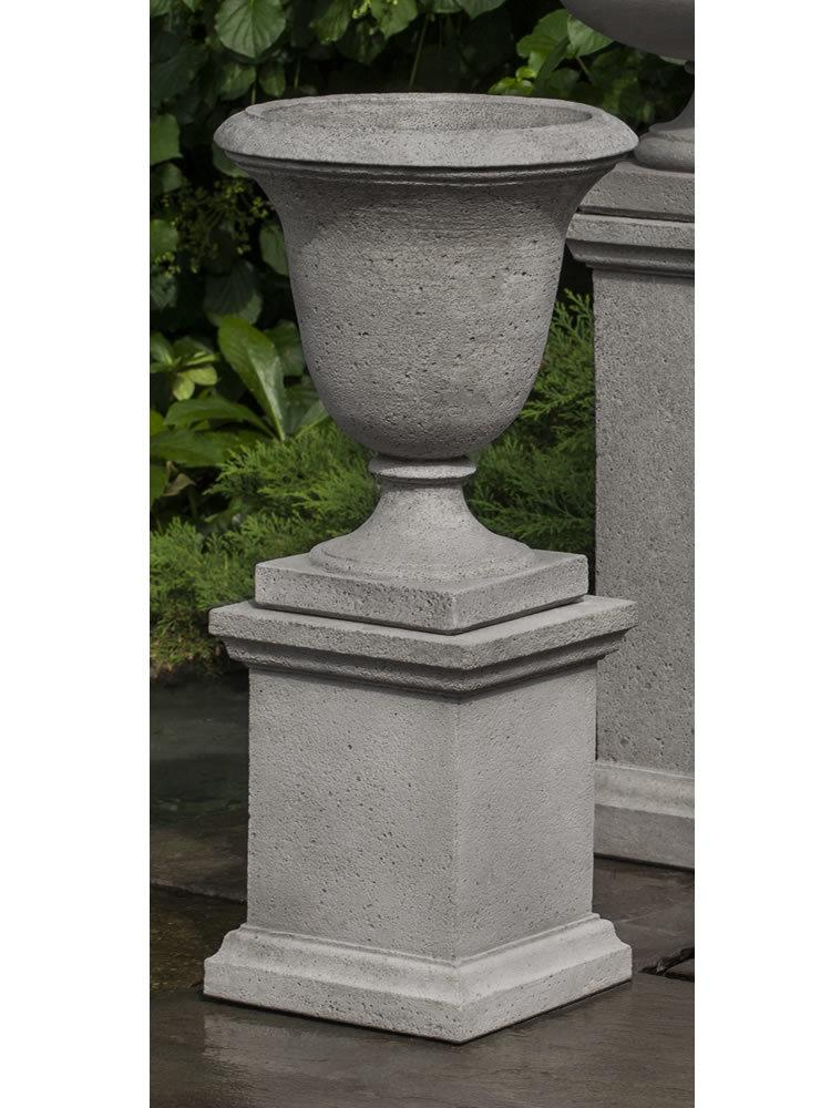 Linwood Urn with Low Wolcott Pedestal