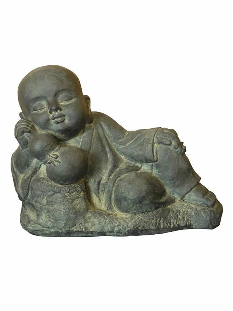Resting Child Buddha Statue