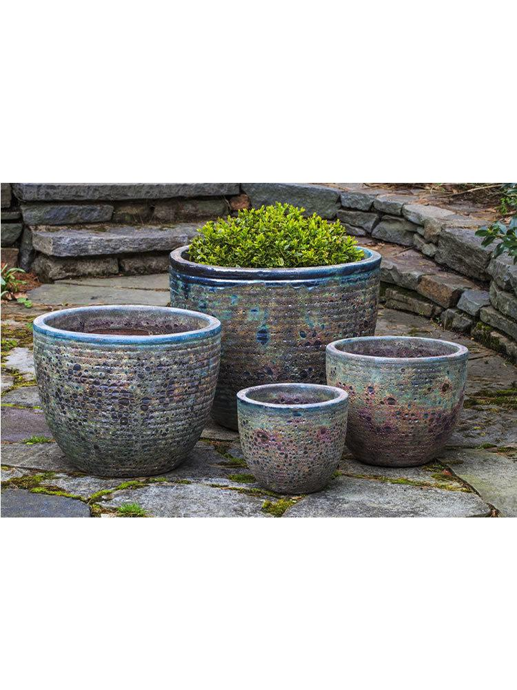 Aspara Planter Set of Four in Angkor Green Mist