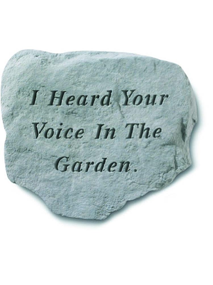 I Heard Your Voice Stone Plaque