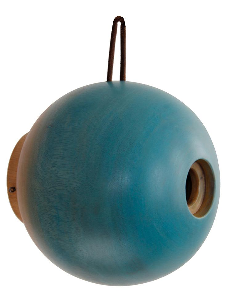 Globe Bird Home Blue