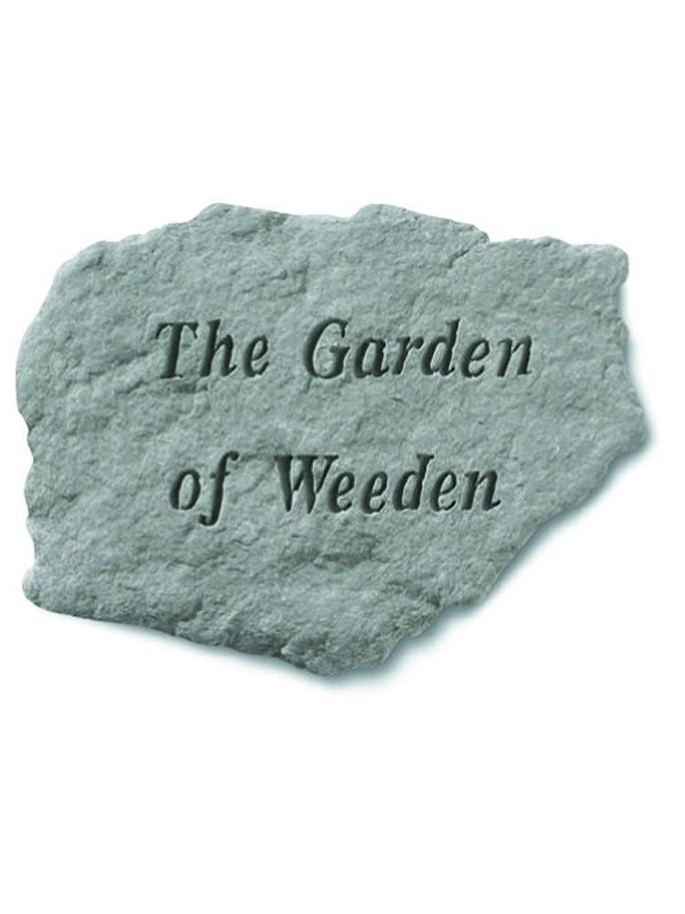The Garden of Weeden Stone Plaque
