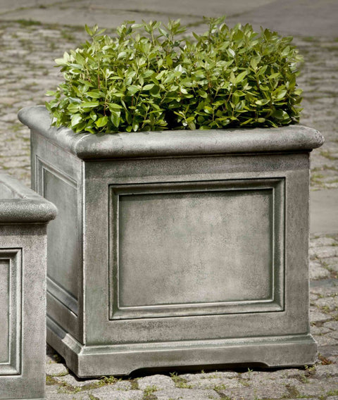 Set of 2 Orleans Large Planters with FREE Plants