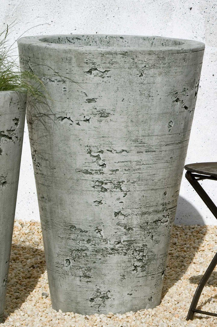 Set of 2 Saguaro Large Planters with FREE Plants