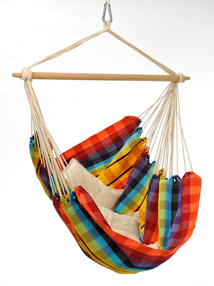 Brazil Hammock Chair Rainbow