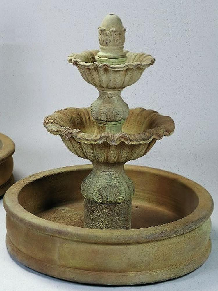"Regina Two Tier Pond (37"" Pond) Fountain"