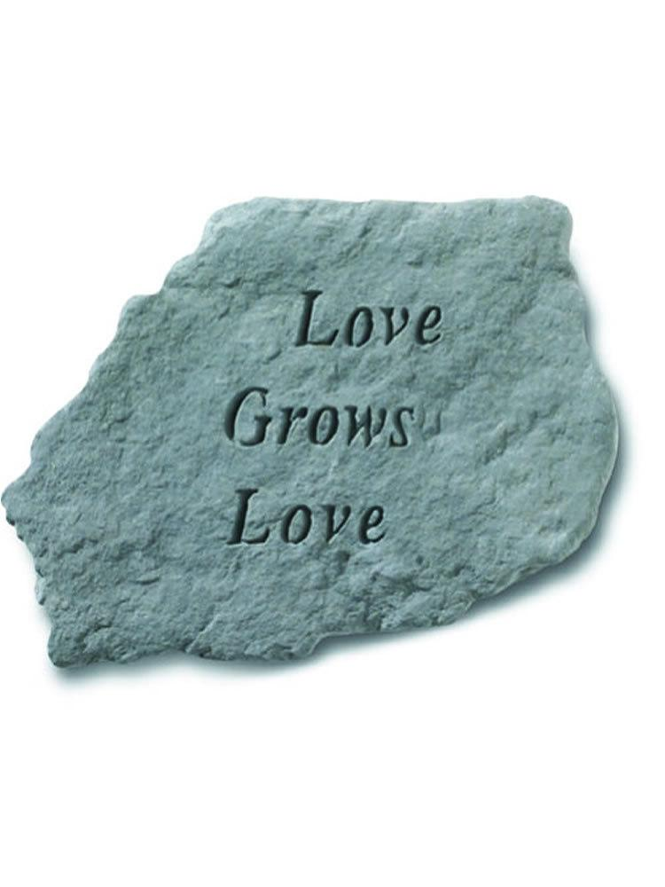 Love Grows Love Stone Plaque