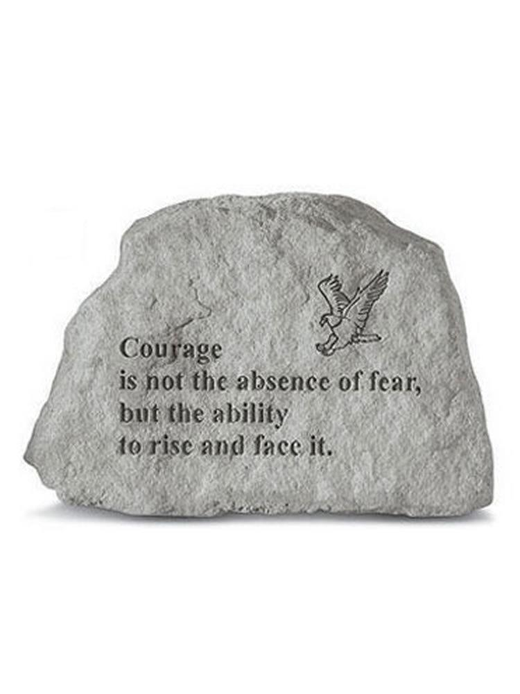 Courage Mini Garden Stone/Plaque