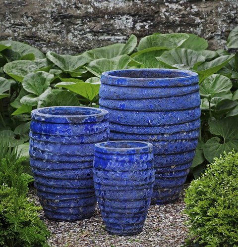 Guaracha Planter - Set of 3 in Angkor Blue