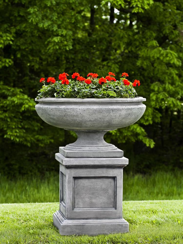 St Louis Urn on St Louis Pedestal