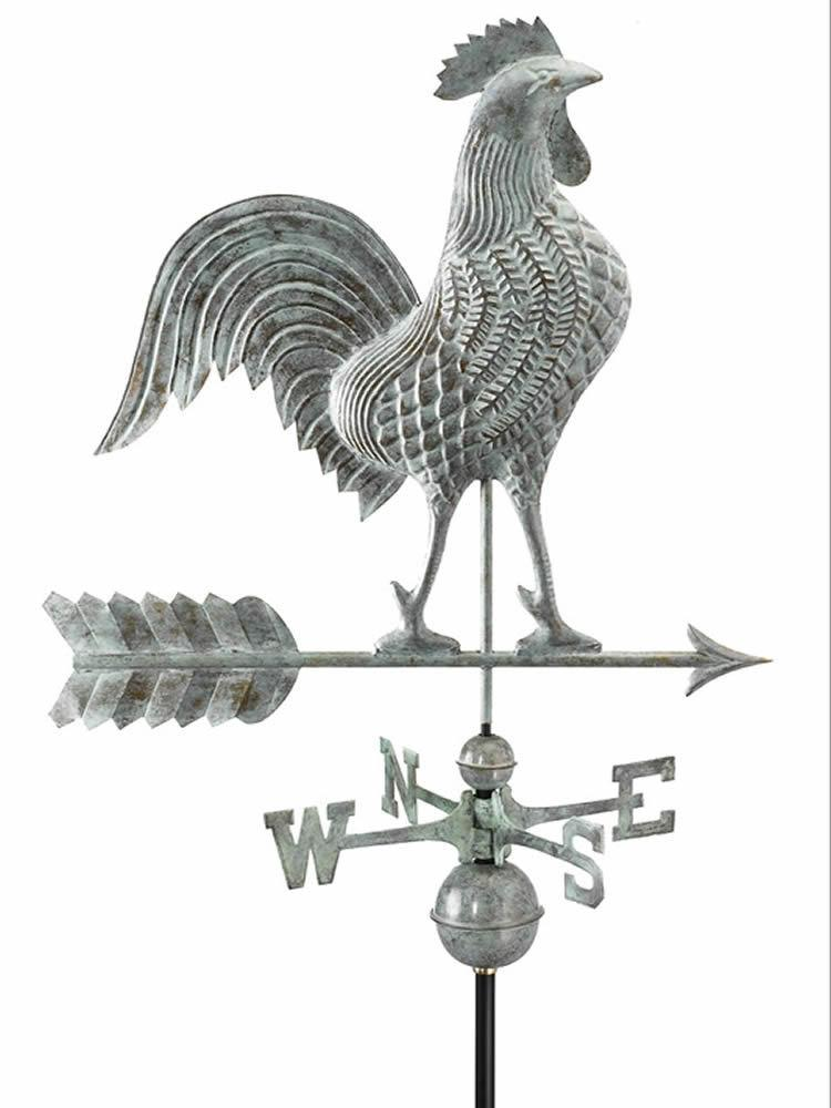 Rooster Medium Standard Weather Vane