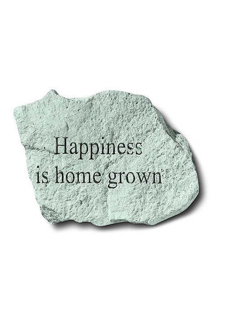 Happiness is Home Grown Mini Garden Stone/Plaque