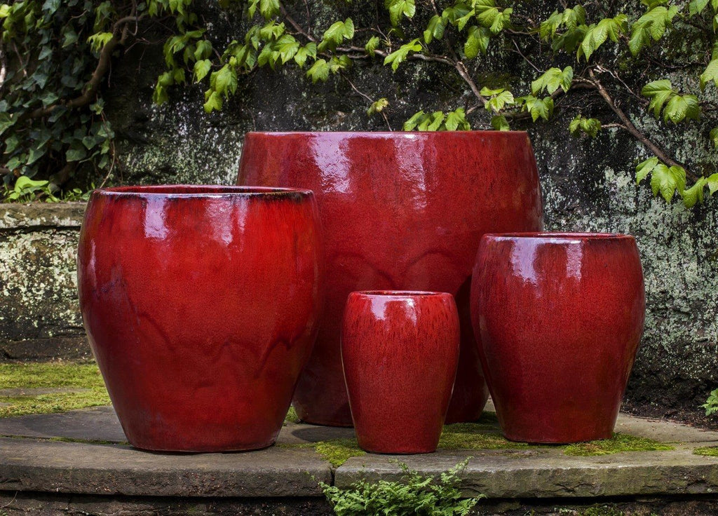 Chantal Planter in Macintosh Red