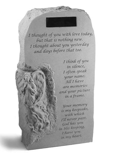 I thought of you.. Engraved Obelisk