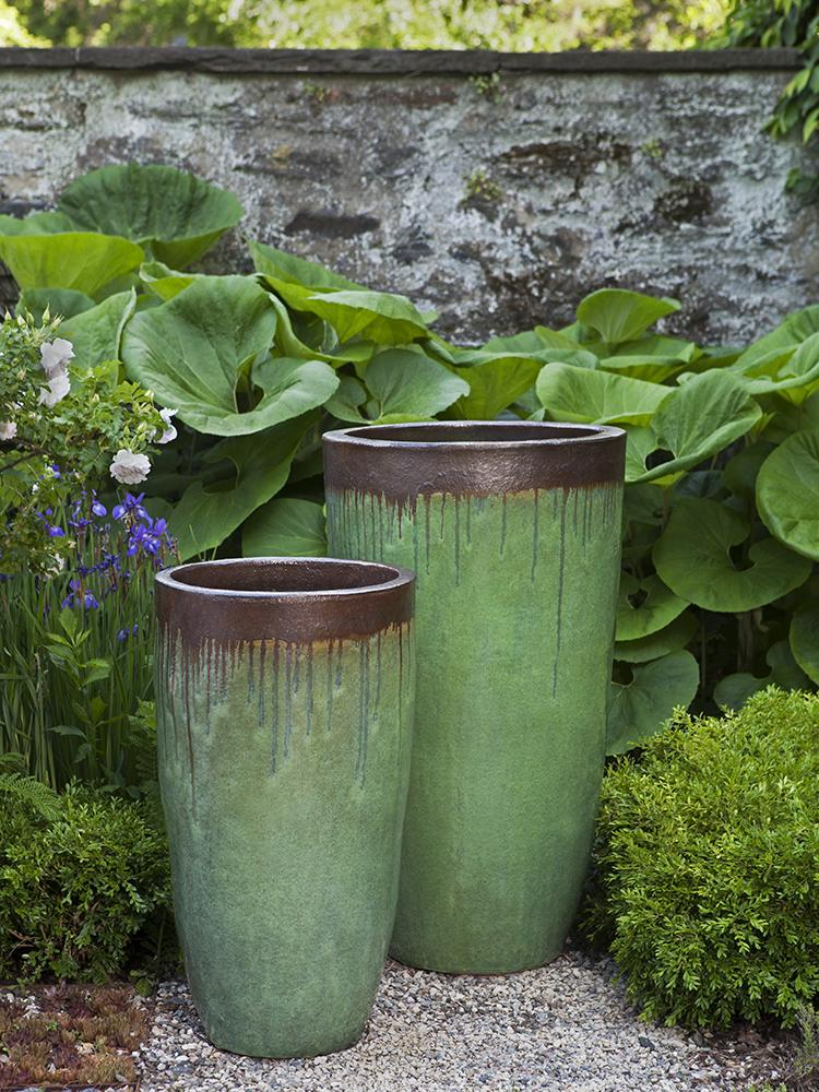 Orion Planter - Set of 2 in Bayou Bronze