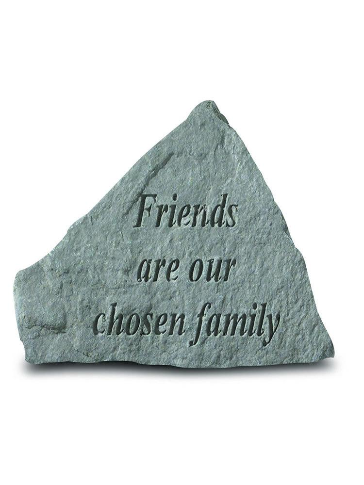Friends Are Our Chosen Family Mini Garden Stone/Plaque