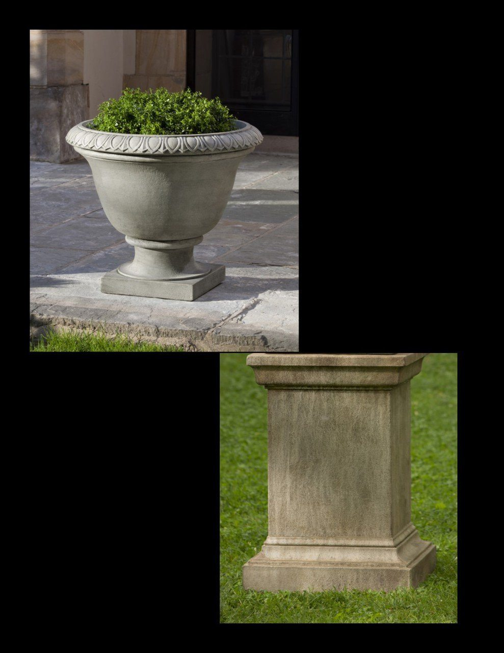 Easton Urn with Pedestal