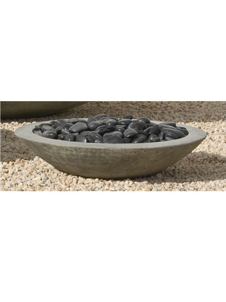 low zen bowl  small garden fountains com phelps cement fireplaces modern cement fireplaces