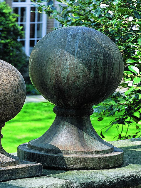 Large Sphere with Round Base Statue/Finial
