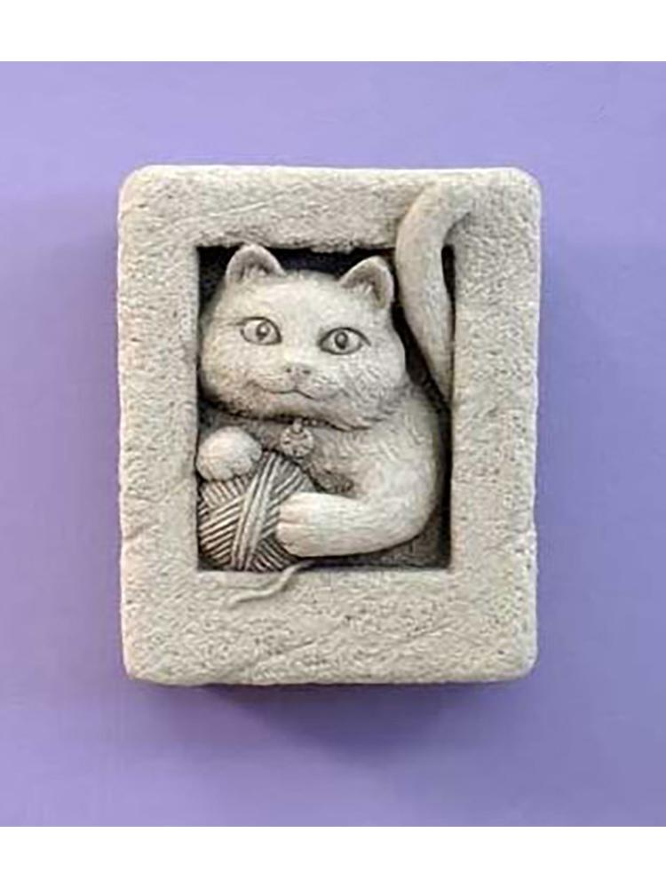 Mini Kitten Garden Stone/Plaque