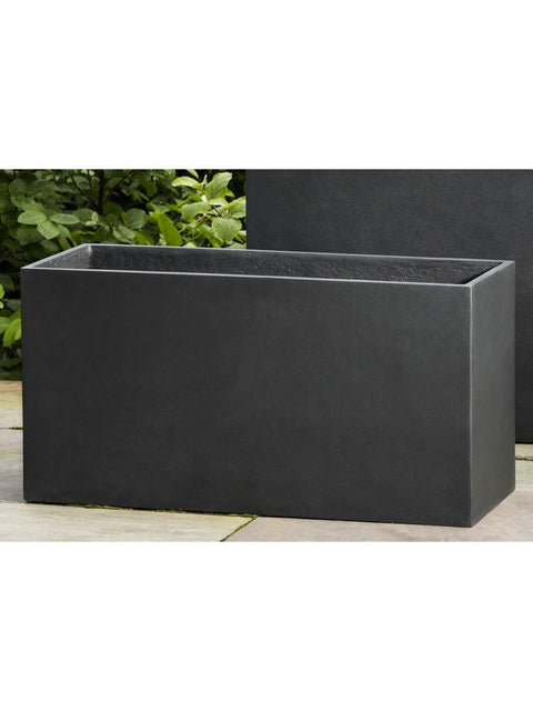Modular Planter 7 in Onyx Black Lite