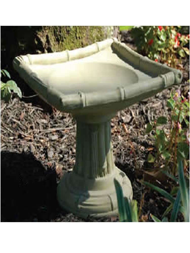 Miniature Oriental Bird Bath
