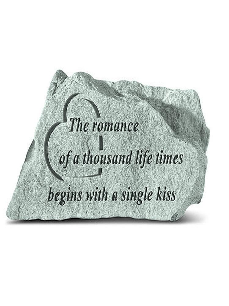 The Romance of a Thousand Life Times Mini Garden Stone/Plaque