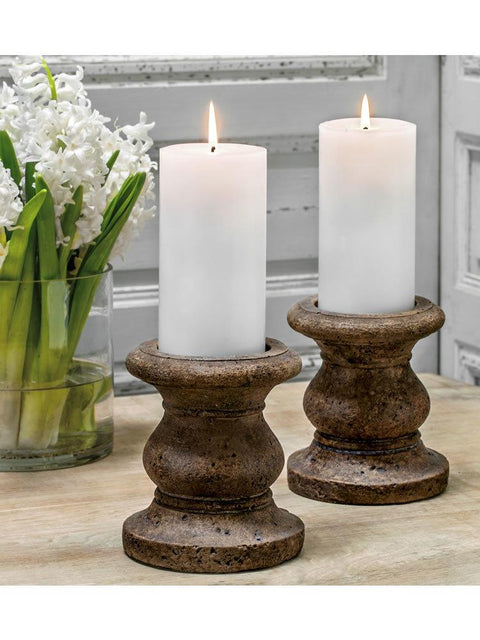 "Classic Tall Pillar Candleholder Set of Four (3"" Candle)"