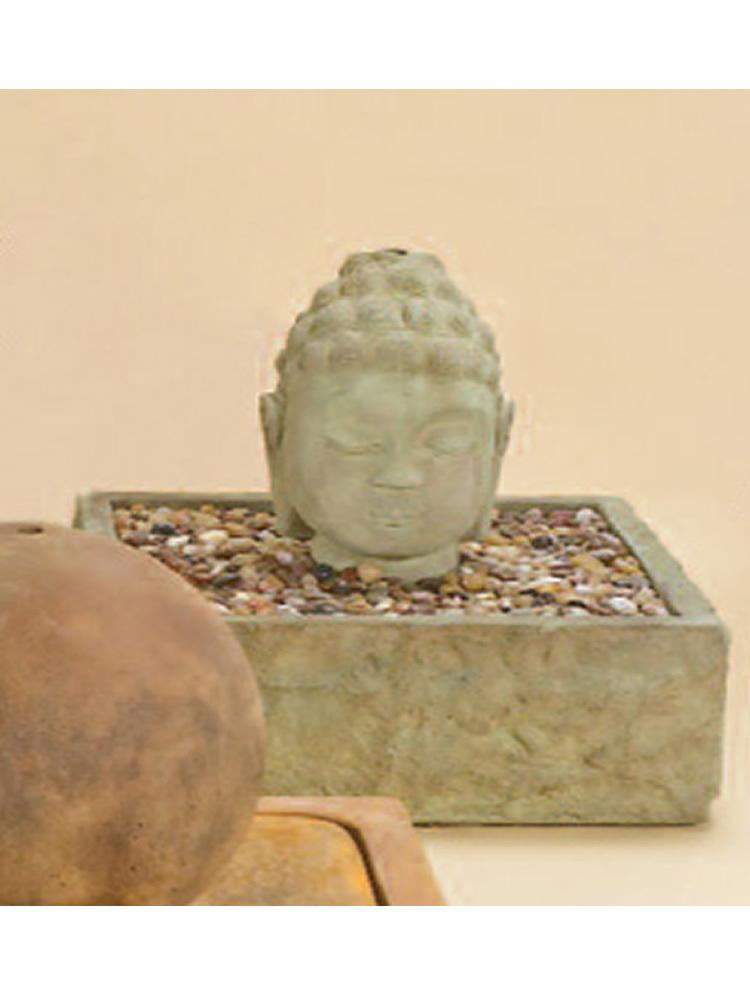Buddha Head Fountain