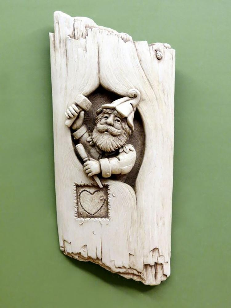Home Sweet Gnome Plaque