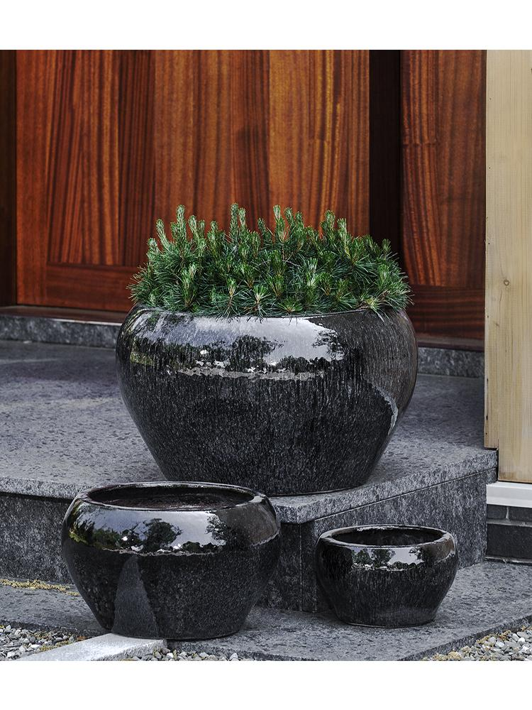 Maia Planter - Set of 3 in Galaxy