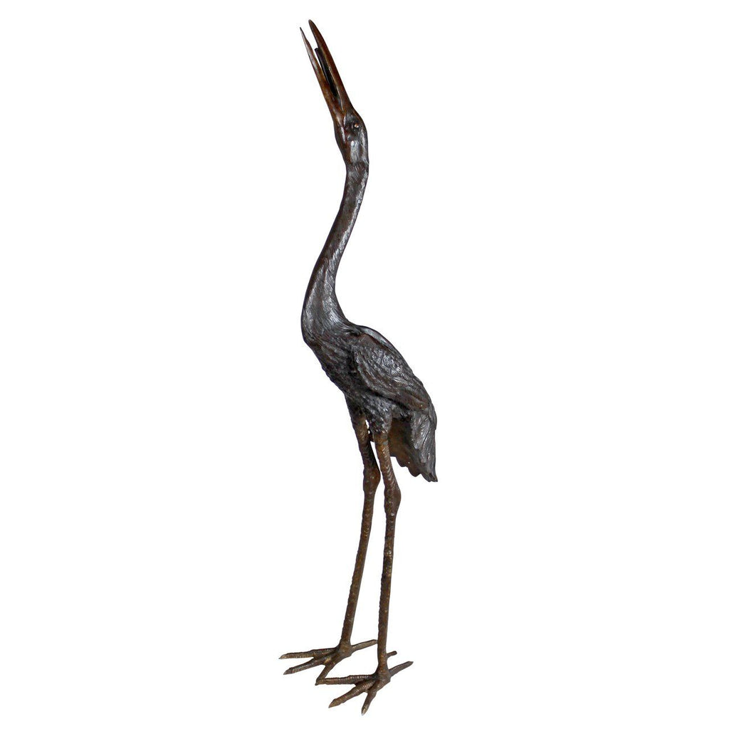 Large Crane Statue-Head High
