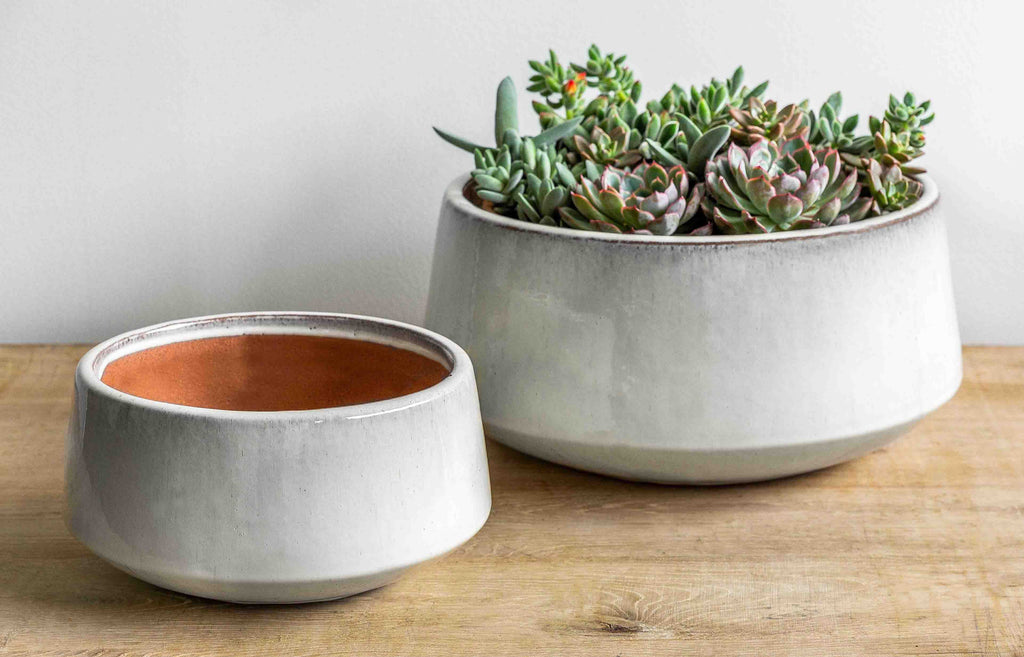 Scandia Planter - Set of 2 in Cream