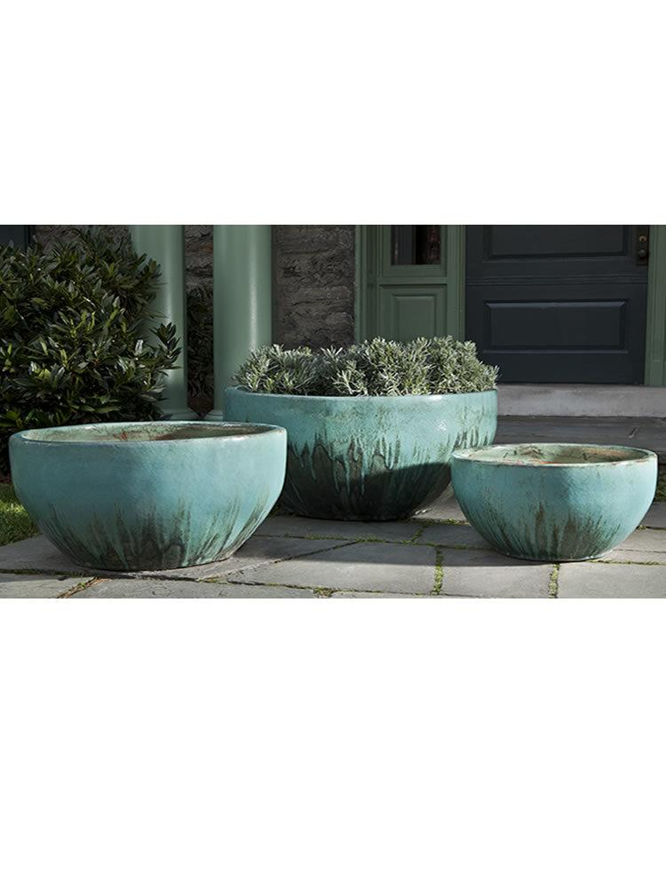 Quinta Planter in Falling Jade