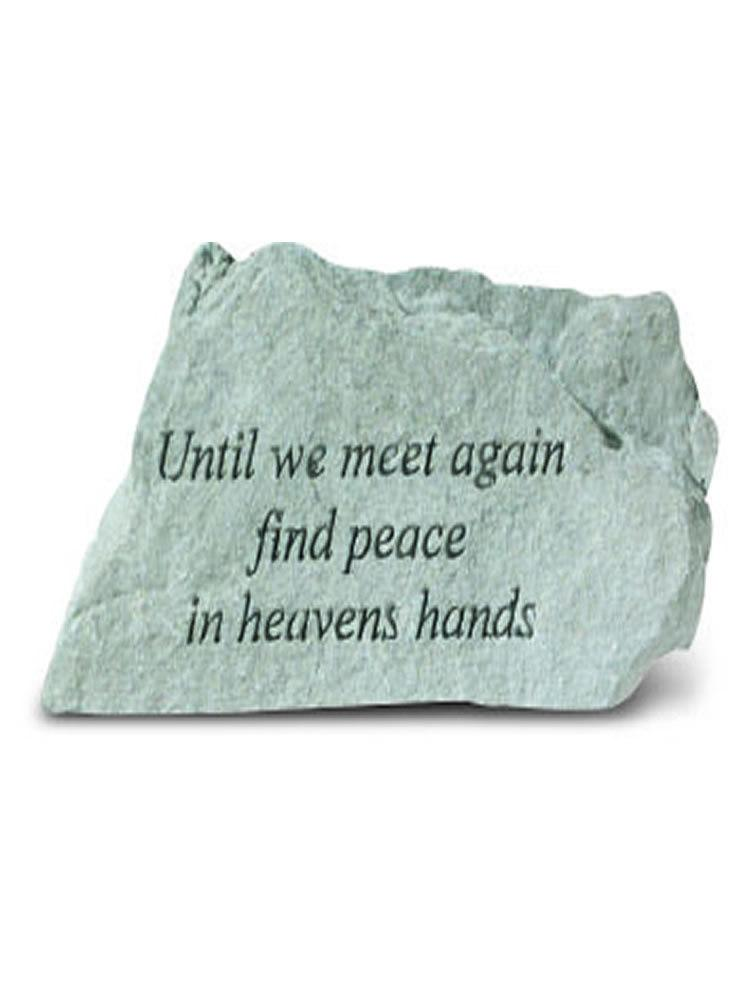 Until We Meet Again Mini Garden Stone/Plaque