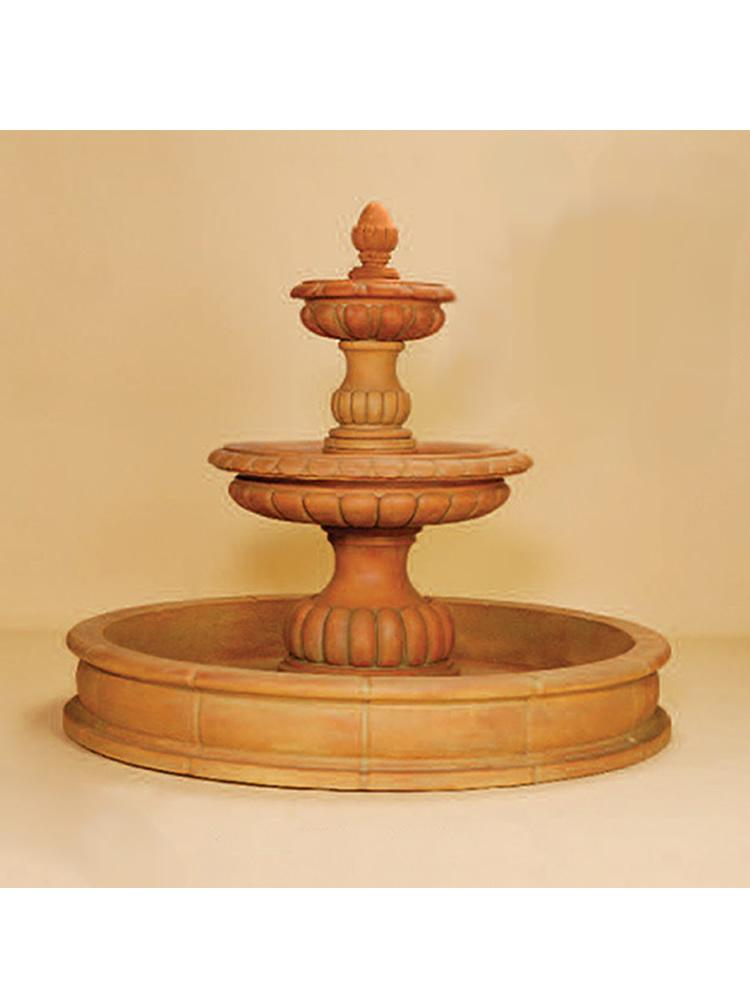 Ambra Two Tier Pond Fountain
