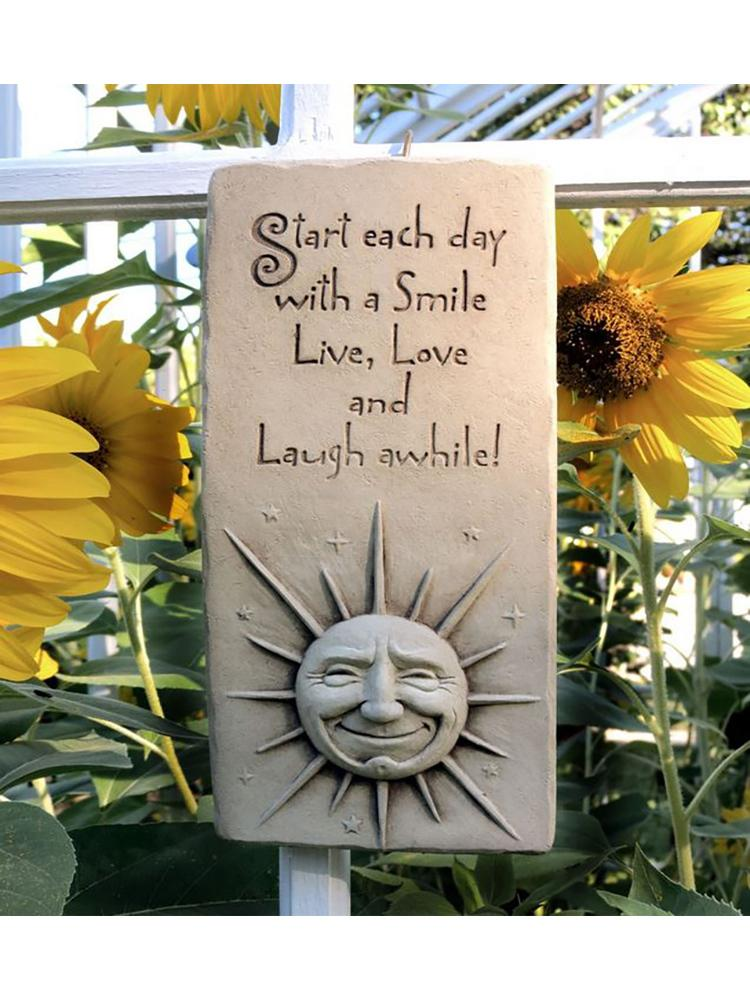 Live, Love and Laugh Plaque