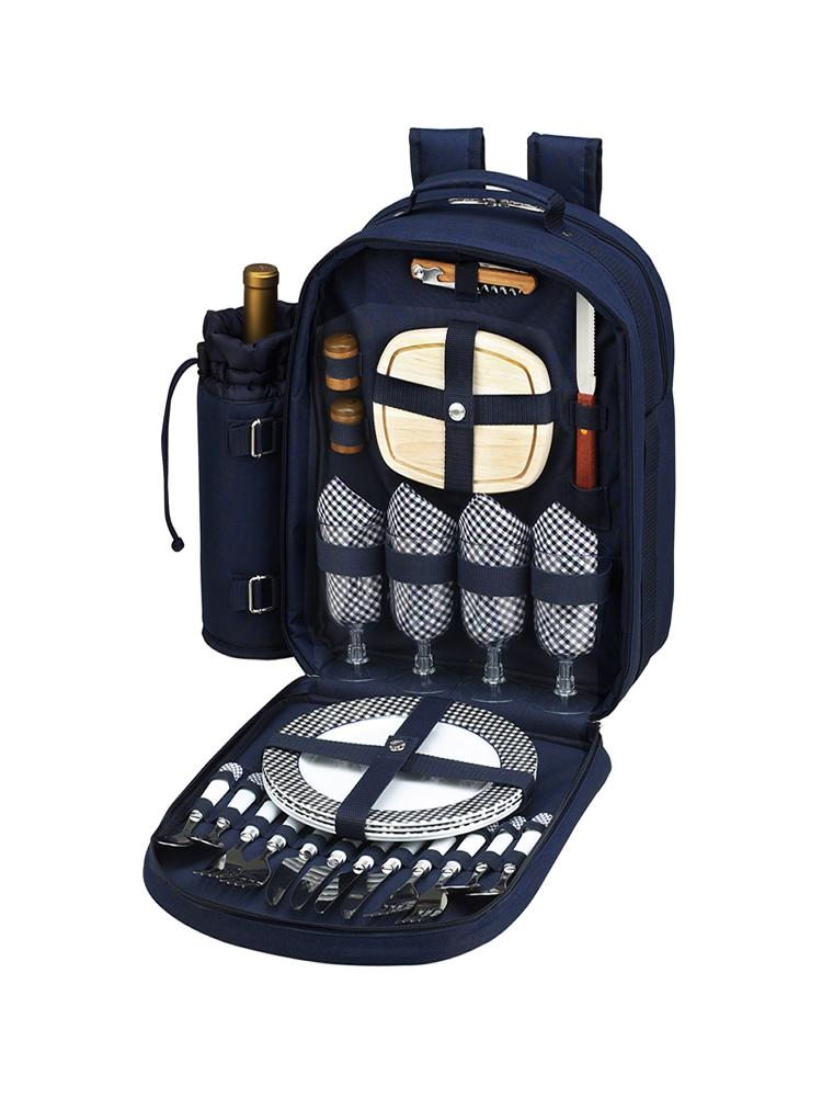 Bold Picnic Backpack for Four